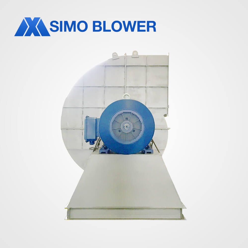High air flow industrial extractor centrifugal fan