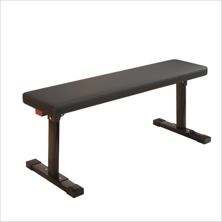 Multifunctional fitness flat bench sports gym home exercise folding adjustable training dumbbell bench