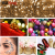 Modern design metallic glitter pigment sparkling bulk glitter for Christmas decorations