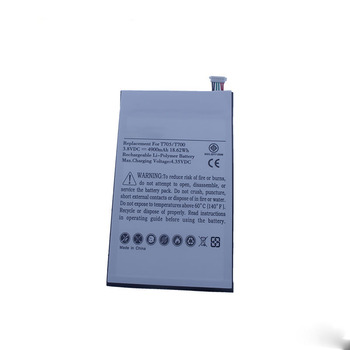 3.8V 4900MAH Tablet PC Battery EB-BT705FBC battery For Tablet SAMSUNG GALAXY Tab S 8.4 T700 T705