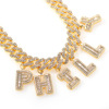 gold chain size 22inch