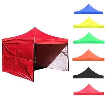 Outdoor Waterproof 2x2 2.5x2.5 3x3 EZ pop up gazebo tent 3 walls