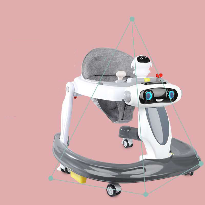 baby walker simple big size plastic musical toy Baby safe Multi-function unique baby walker