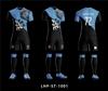 black andLight Blue