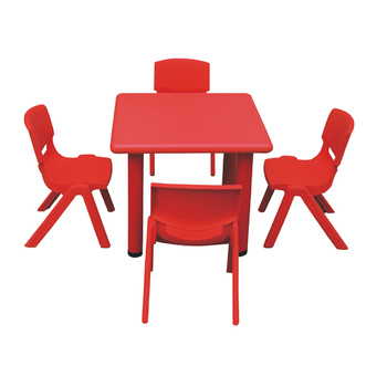 Bulk children furniture bedroom kids plastic table chair set