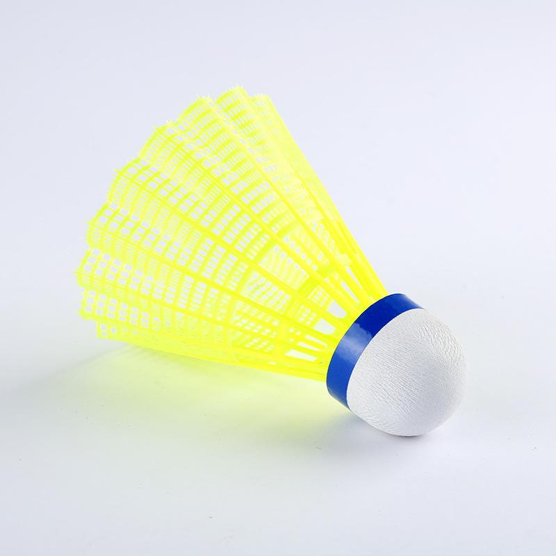 6 pcs Plastic Shuttle Cocks Sports Badminton Ball Shuttlecocks UK STOCK FREE P/&P