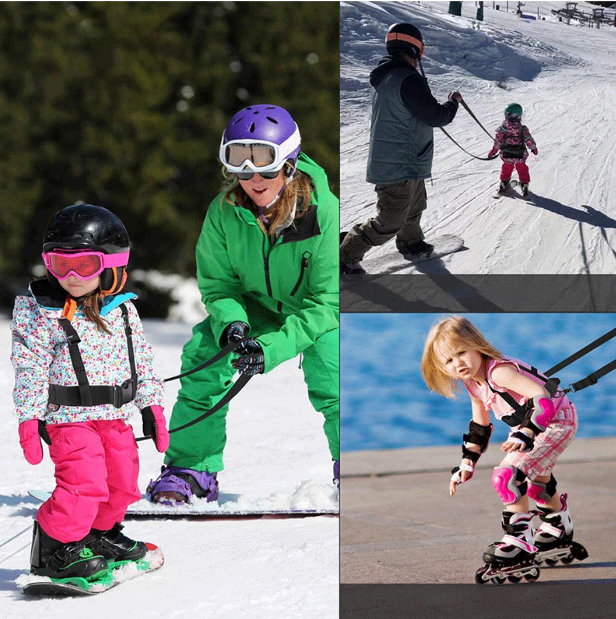 Лидер продаж, зимние упряжки для катания на лыжах и сноуборде для детей