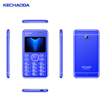 KECHAODA K55 PLUS basic elder alarm cell phone make your own brand phone 2 sim mini card phone