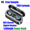 BTH F9 TWS EARBUDS POWER BANK