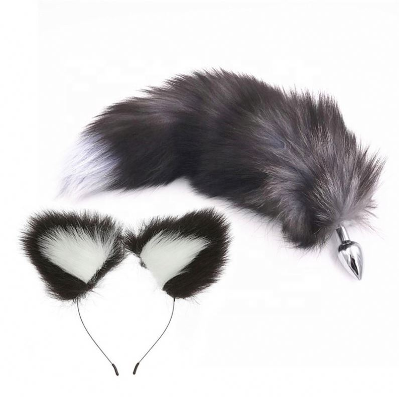 Thundercats Fox Chien Animal Toy Queue Avec Métal Plug adulte Robe Fantaisie