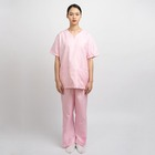 Short Scrubs Surgical Scrub Suit Wholesale Women Hospital Uniform Pink Short Sleeve Nurse Fashion Surgical Medical Scrubs Suits