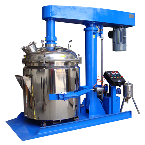 Vertical basket mill for paint
