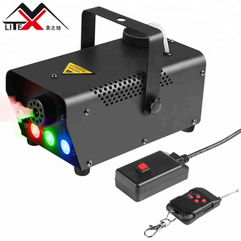 2020 Best popular party Dj equipment 400W RGB 3in1 colorful led party fog smoke machines for stage dj disco night club