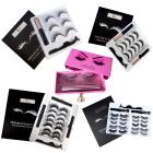 Eyelashes Best-selling Eyelash 2020 Best-selling 3D Magnetic Silk 3 Pairs Of Mixed Set False Eyelashes Suit