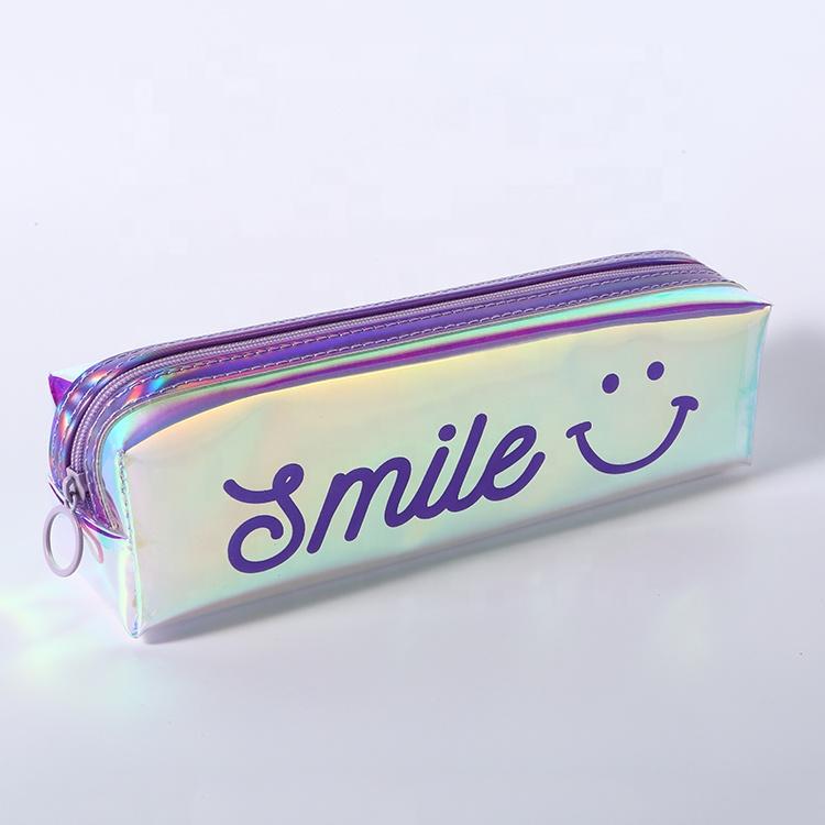 Канцелярские принадлежности на молнии, симпатичная сумка для ручек, детский школьный пенал для девочек, подарок для студентов