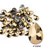 12# 4*6mm Drop Gold