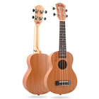 "High Quality Sale 21"" Peach Blossom Core Small Guitars Ukulele For Beginner"