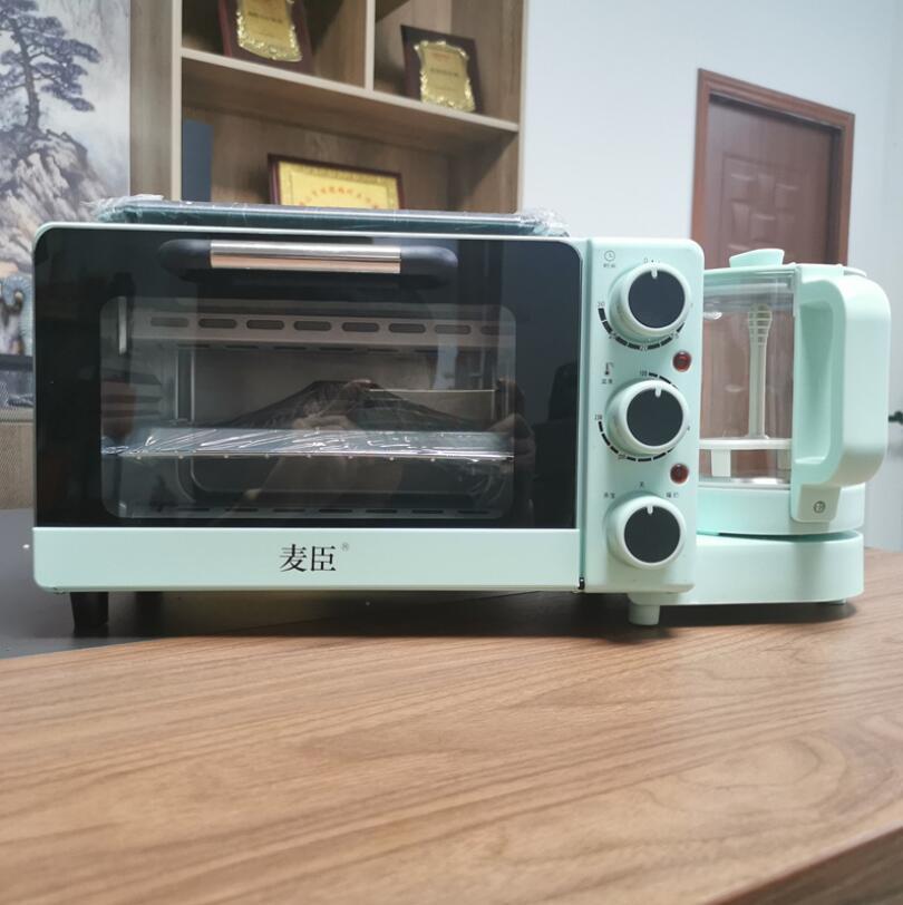 3 в 1 многофункциональная для аппарата для приготовления завтрака тостер приготовления Пан сэндвич, тем самым позволяя зернам раскрыться кофе Капельное кофе-машина для завтрака