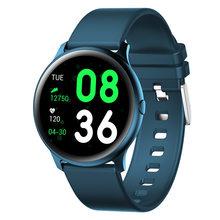 LIGE 2020 новые цветные умные часы для женщин и мужчин, многофункциональные спортивные часы с пульсометром, кровяным давлением IP67, водонепрониц...(China)