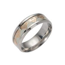 2019 Супермен из нержавеющей стали кольца для мужчин и женщин модные серебряные светящиеся украшения кольцо обручальное Кольцо Индивидуальн...(Китай)