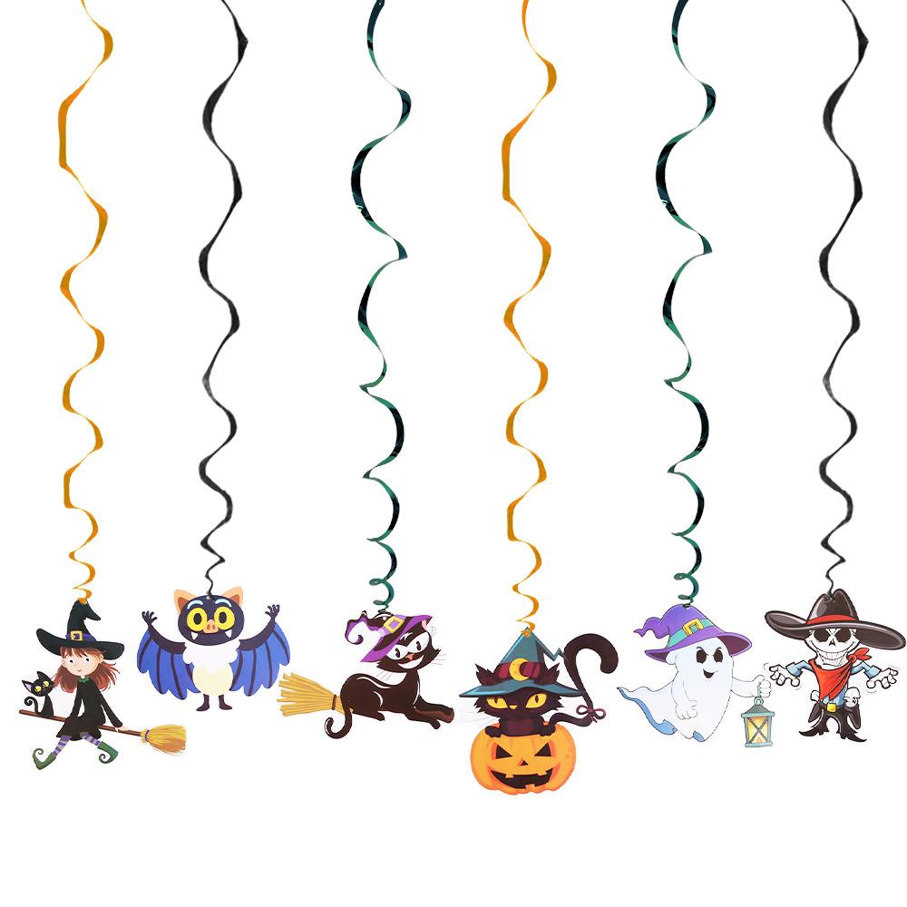Nuevo De Dibujos Animados De Halloween Colgante Remolino Decoración Lindo Colorido Espiral Colgante Calabaza Fantasma Decoración De Halloween De Producto Buy Halloween Colgante Remolinos De Halloween Decoración En Espiral Colgante Decoración