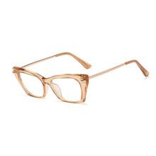SO & EI винтажные женские очки в оправе кошачий глаз, прозрачные линзы конфетного цвета, женские оптические очки для близорукости, очки по реце...(Китай)