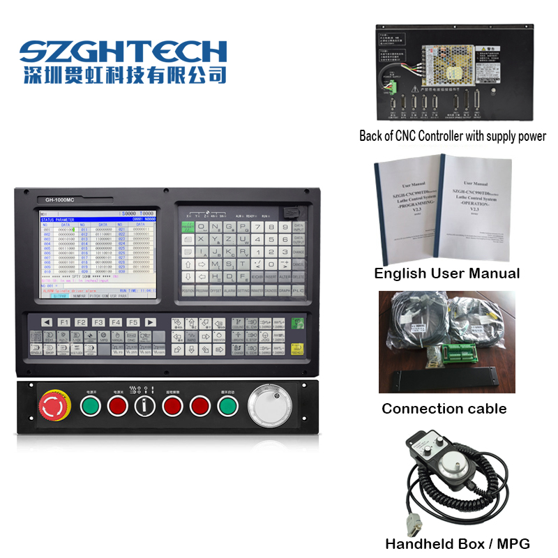Low cost 3 axis kit usb cnc lathe controller mach3