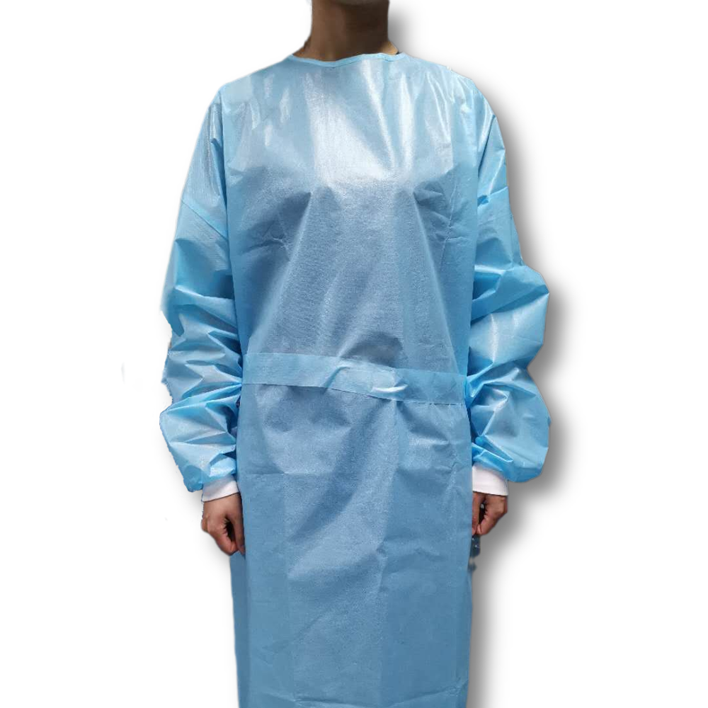 Isolation Gown AAMI Level Certificated Disposable Gown For Isolation Impermeable - KingCare   KingCare.net