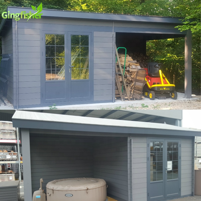 Durable Composite Sheds Garden Portable Building Composite Shed