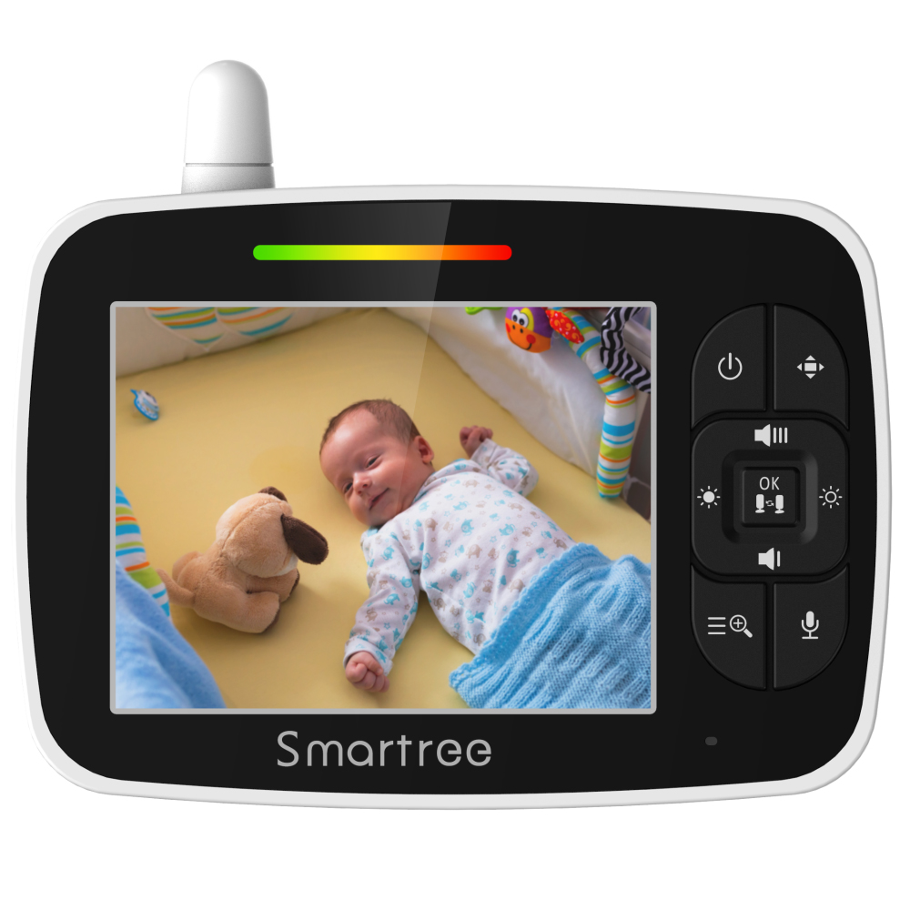 Indoor security WiFi kids audio monitoring night vision digital optics multifunction video new baby monitor