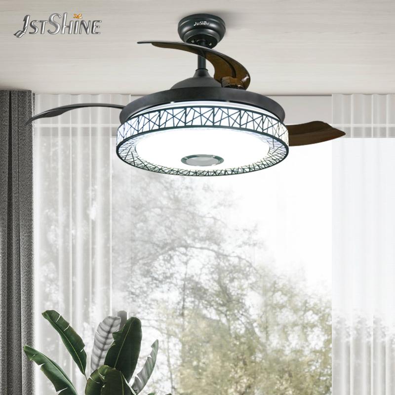 1stshine 2021 инновационные продукты, многофункциональный потолочный вентилятор для люстры с выдвижными лезвиями