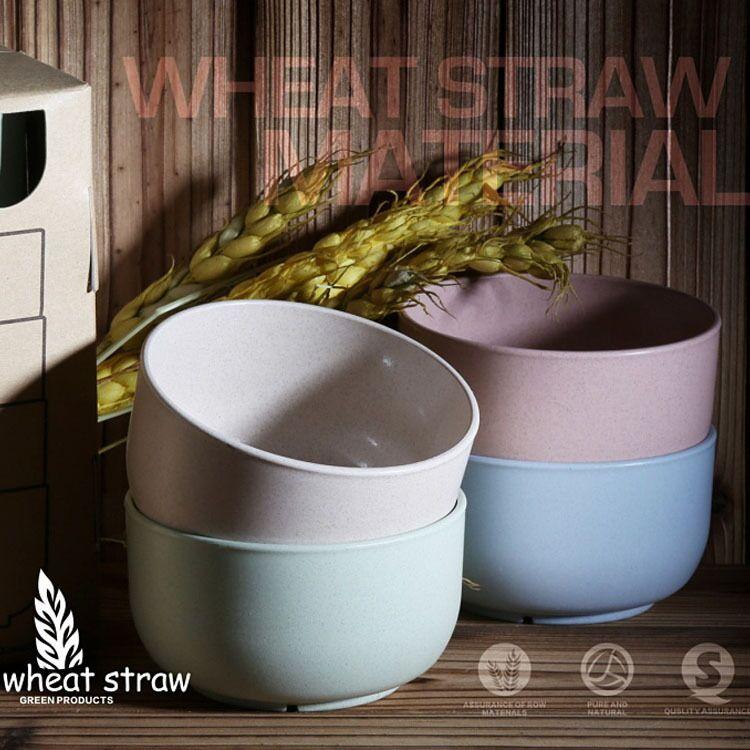 Новые товары, кухонные принадлежности, тарелка из пшеничной соломы, пищевые контейнеры