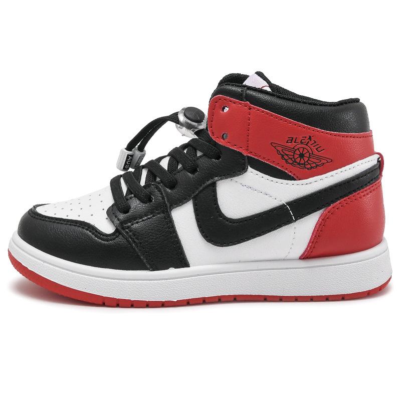 Весна 2021, новинка, детские высокие кроссовки из микрофибры и кожи, Баскетбольная обувь для мальчиков и девочек, унисекс обувь