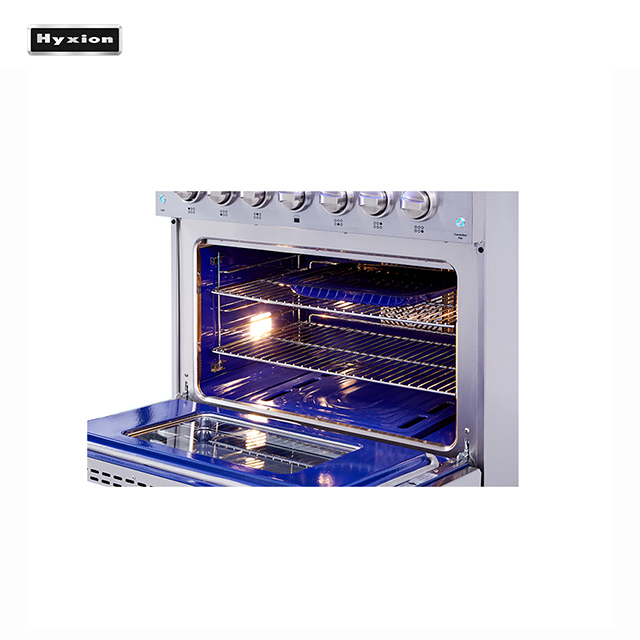 Hyxion Hyxion 30 Inch 4 Burner Gas Cooker with Oven