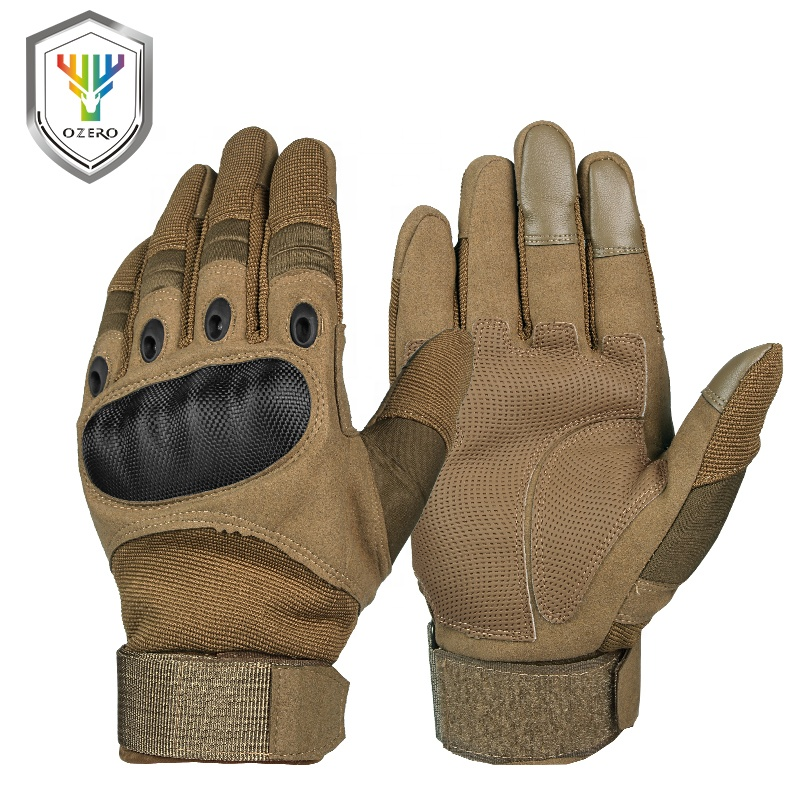 Ozero Motorbike Racing Riding Gloves Synthetic Leather Men Motorcycle Gloves for Motorcyclist .