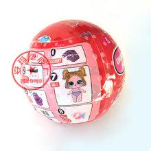 Оригинальные куклы LOL SURPIRSE 5-го поколения, волшебные цели для волос, сделай сам, глухая коробка, куклы, фигурки, модель, подарок для девочки(Китай)