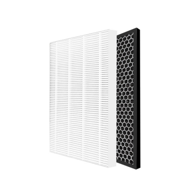 true hepa H12 H13 honeycomb HEPA carbon filter sheet for sharp hepa carbon filter