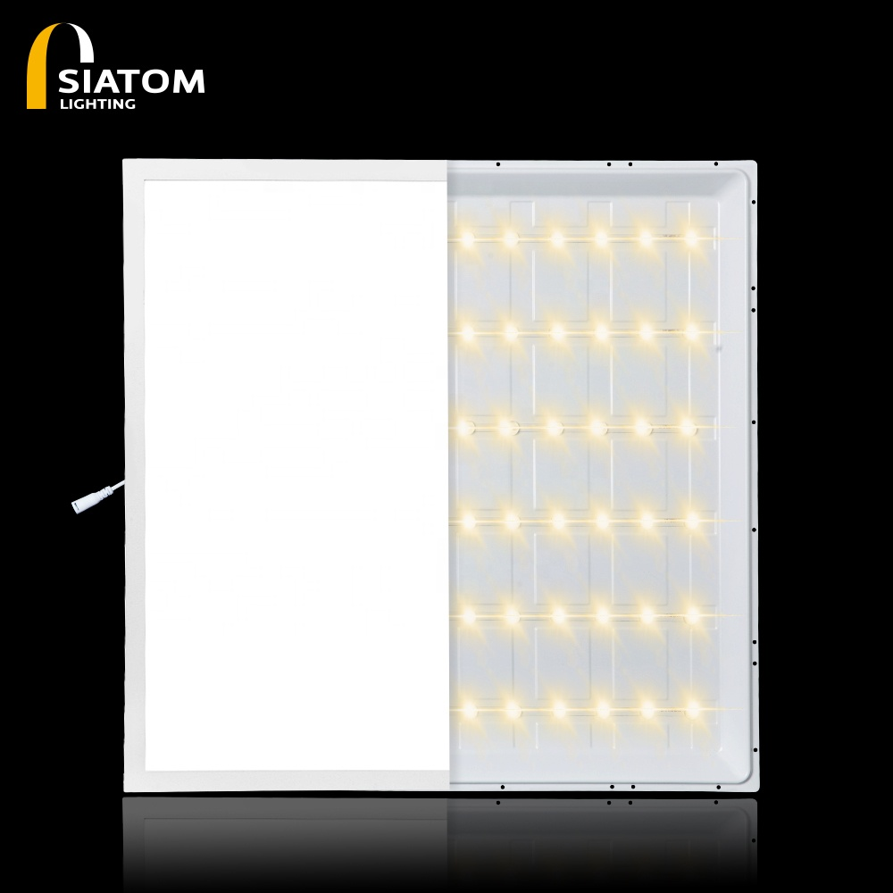 Highest cost-effective 600600 LED flat panel for business room isolated flicker free