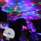 For Light Lights Led Small Magic Ball For Led Stage Light Party Sound Control Mini Effect USB Ball Dj Lights Disco