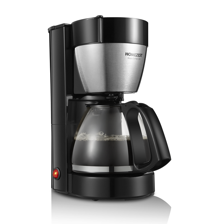 HOMEZEST CM-322B 1.25L 10-12CUPS FILTER  CAFE MACHINE  FOR HOUSE USE AUTO-OFF COFFEE MACHINE