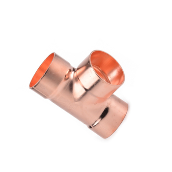 Factory Picc Insurance copper solder joint fitting copper tee