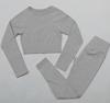 Grey-crop top