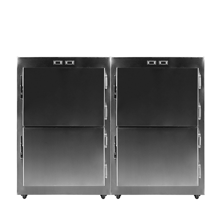 Mortuary Equipment Morgue Freezer Four Dead Body Cooler with Wholesale Price