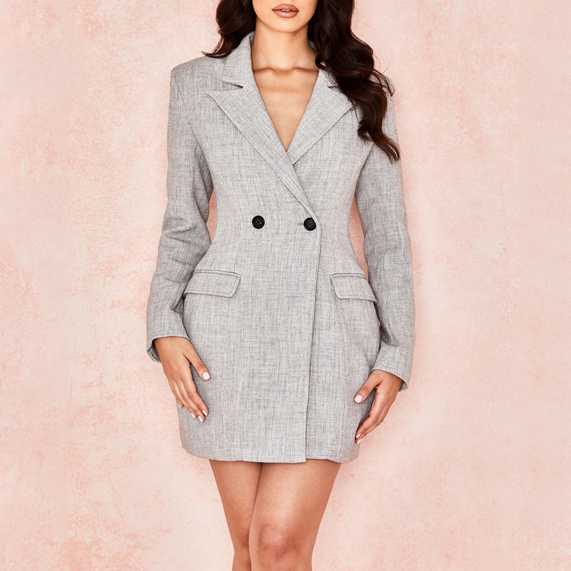 Лидер продаж, модный Женский блейзер высокого качества на осень и зиму