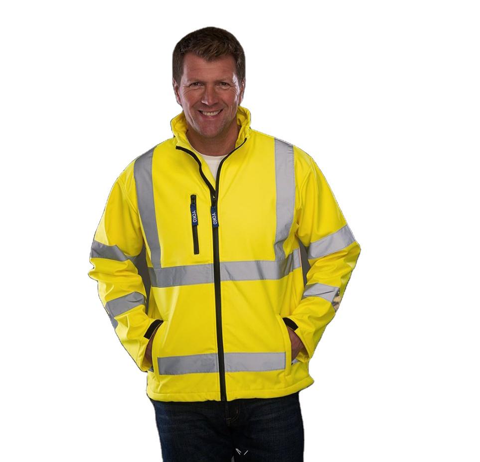 Защитная одежда, хороший поставщик, цвет на заказ 2021, бестселлер, низкая цена, oem odm Водонепроницаемая Теплая Флисовая Светоотражающая куртка