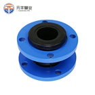 Connection Flange Flange Connection Flexible Rubber Bellows Shocker Absorber