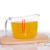 Kitchen measuring tool baking tool glass measuring cup 0.5L measuring cup with handle