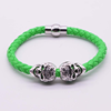 Green with silver part