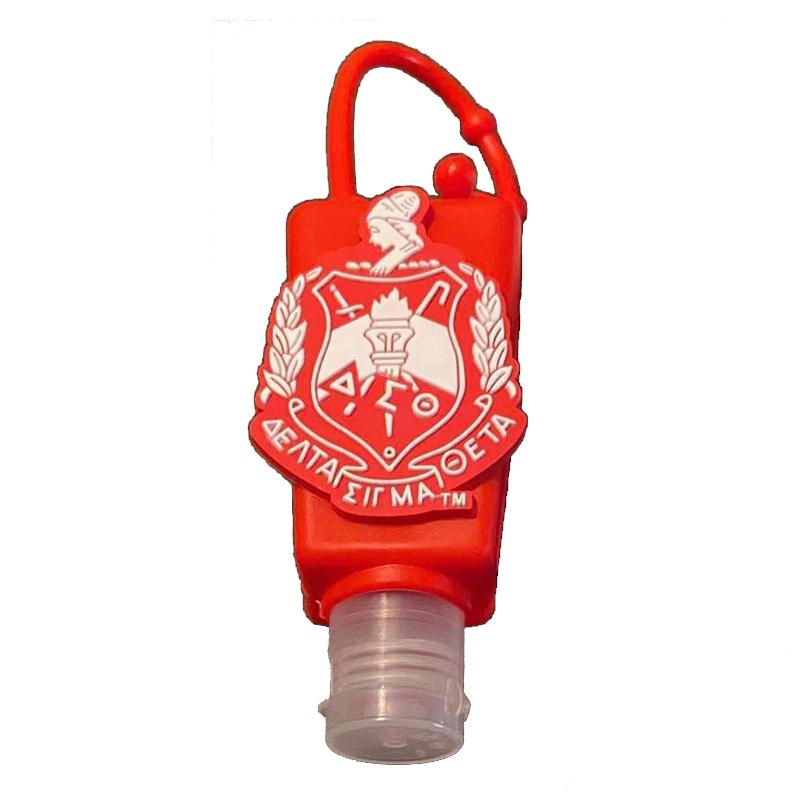 Delta Sigma Theta Hand Sanitizer Case and Holder