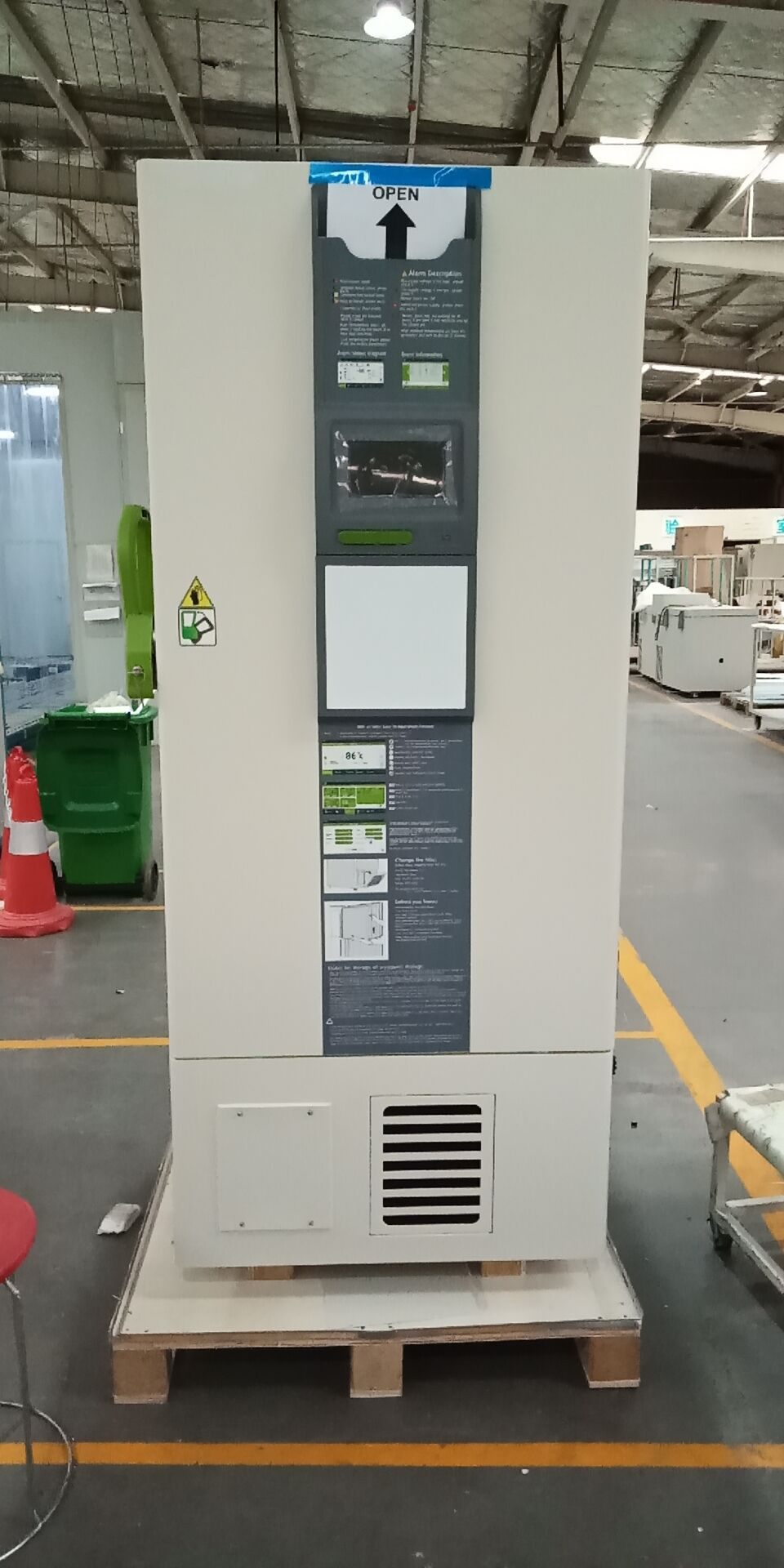 Biobase -80 C Laboratory Ultra Low Temperature Freezer 600 Liter